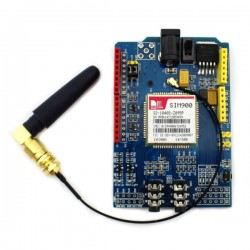 SIM900 Quad-band GSM GPRS Shield Development Board For Arduino