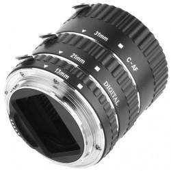 Conjunto de Tubos para Fotografia Macro (For Canon EOS EF EF-S)