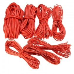 10 Meter Red Silicone Wire Cable 10/12/14/16/18/20/22AWG Flexible Cable