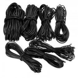 10 Meter Black Silicone Wire Cable 10/12/14/16/18/20/22AWG Flexible Cable