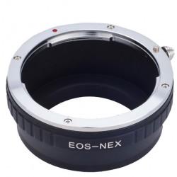 Adaptador Canon para Canon EOS EF lens á Sony E NEX-7 NEX-6 NEX-5R NEX-3 DC48