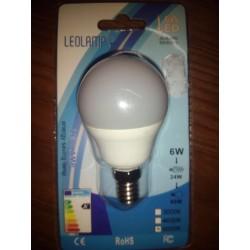Lâmpada LED LEOLAMP 6W E24 6000K