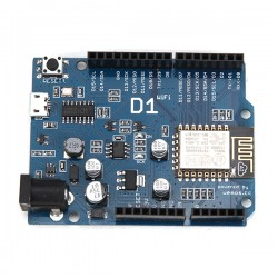 WeMos D1 R2 WiFi ESP8266 Development Board Compatible Arduino UNO Program By Arduino IDE