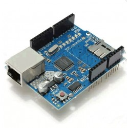 Ethernet Shield Module W5100 Micro SD Card Slot For Arduino UNO MEGA