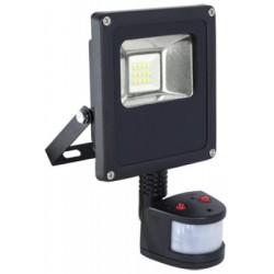 Projector LED 230VAC 10W 6000K 700lm com sensor