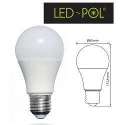 Lâmpada E27 LED 230V 10W 6500K (branco frio) 806lm - LED-POL ORO-E27-TOTO-10W-CW