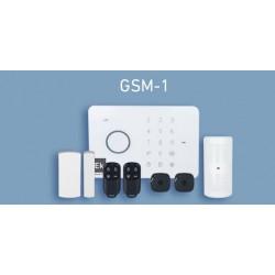 Central de alarme completa com módulo GSM - Ekselans GSM-1
