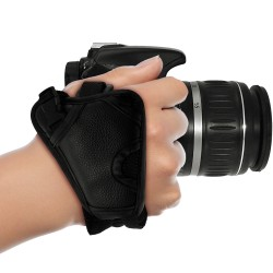 PU Leather Hand Wrist Grip Strap for DSLR