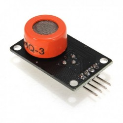 MQ-3 Alcohol Ethanol Sensor...
