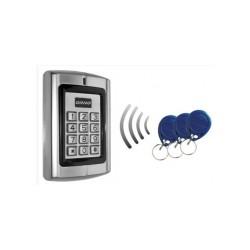 Leitor de controlo de acesso com PIN + RFID 125kHz - Orno OR-ZS-802