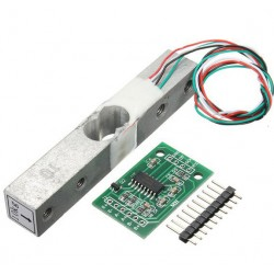 10kg Aluminium Alloy Small Scale Weighing Pressure Sensor With HX711 AD Module