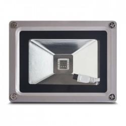 LED 230V 10W RGB com comando