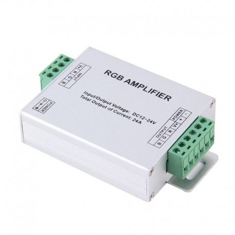 144W LED RGB Amplifier For 3528/5050 SMD RGB LED Strip Lights 12V