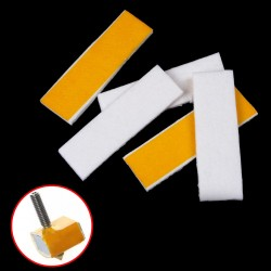 3mm Thickness 3D Printer Heating Block Cotton Hotend Nozzle Heat Insulation Cotton