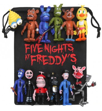 13pcs/lot FNAF PVC Action...