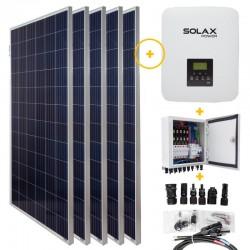 KitSolar Fotovoltaico 3KW Fase ÚnicaRede conectada