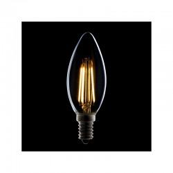 Lâmpada de Filamentoo LED E14 4W 380Lm 30.000H