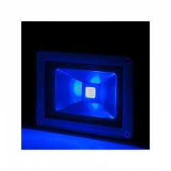 Projetor LED IP65 Brico 10W 850Lm 30.000H  Azul
