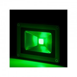 Projetor LED IP65 Brico 10W 850Lm 30.000H Verde