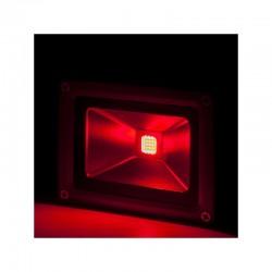 Projetor LED IP65 Brico 10W 850Lm 30.000HVermelho