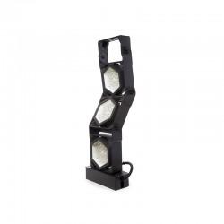 Projetor LED IP66 300W 145Lm/W Cree 3030 60º Driver Meanwell HLG