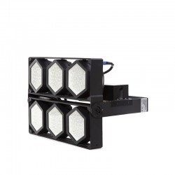 Projetor LED IP66 600W 145Lm/W Cree 3030 60º Driver Meanwell HLG