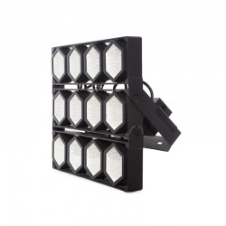 Projetor LED IP66 1200W 145Lm/W Cree 3030 60º Driver Meanwell HLG