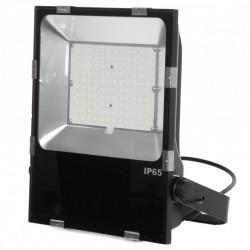 Projetor Led Slimline Lumileds LED 3030  100W 12000Lm IP65 50000H Ajustável
