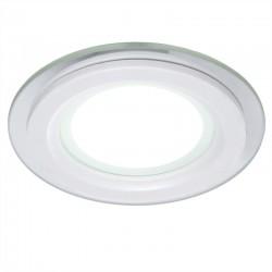 LED Downlight Circular Com Vidro Ø95Mm 6W 450Lm 30.000H GR-MB01-6W-CW