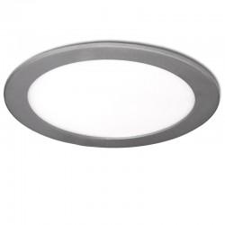 LED Downlight Slimline Circular  295M 25W 2000Lm 30.000HPrata