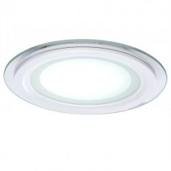 LED Downlight Circular Com Vidro Ø160Mm 12W 900Lm 30.000H