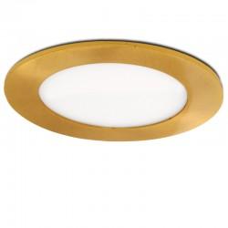 LED Downlight Slimline Circular Ø120Mm 6W 480Lm 50.000HOuro