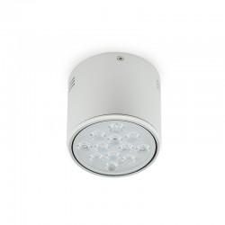 Downlight Montado Em Superfície LED Alumínio 12W 1200Lm 30.000H