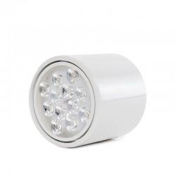 Downlight Montado Em Superfície LEDBranco 12W 1200Lm 30.000H