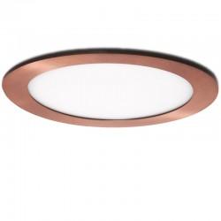 LED Downlight Slimline Circular Ø225Mm 18W 1300Lm 50.000HBronze