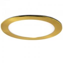 LED Downlight Slimline Circular Ø225Mm 18W 1300Lm 50.000HOuro