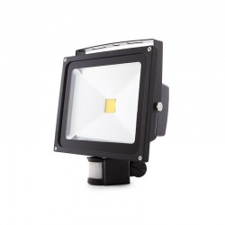 Projetor LED IP65 Detector de Movimento 30W 2700Lm 30.000H