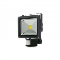 Projetor LED IP65 Detector de Movimento 20W 1800Lm 30.000H