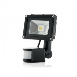Projetor LED IP65 Detector de Movimento 10W 850Lm 30.000H